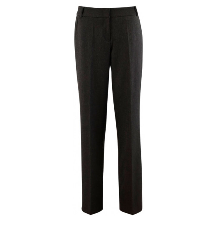 Cambio Cambio Anthraciet Glam Straight Trousers 6227