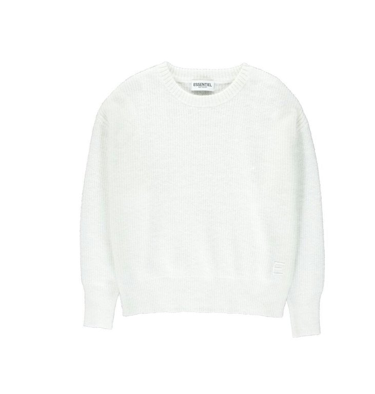 Essentiel Antwerp Essentiel Antwerp Off White Pull Varda