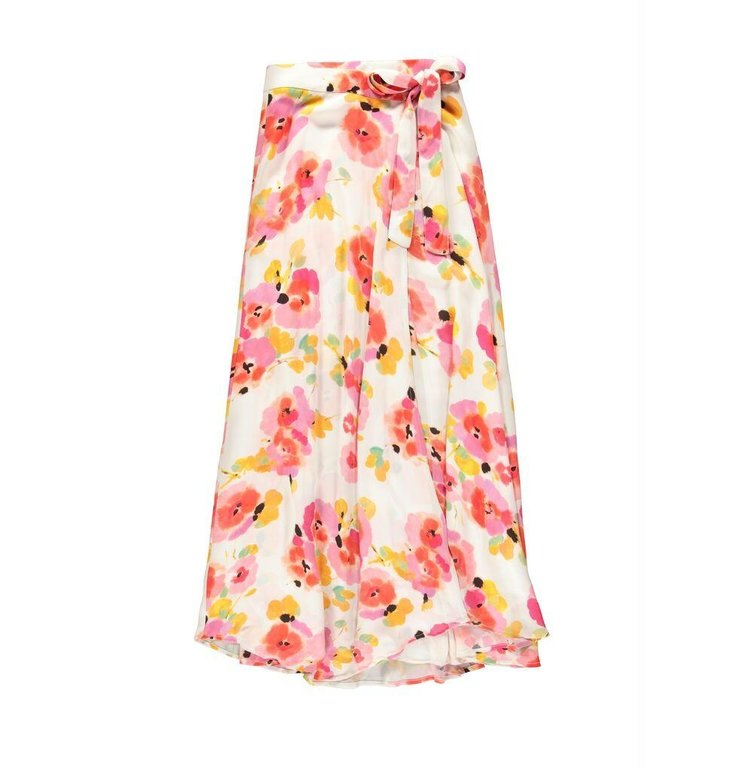 Essentiel Antwerp Essentiel Antwerp Ecru Floral Skirt Vijay