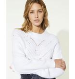 IRO White Knit Arresi
