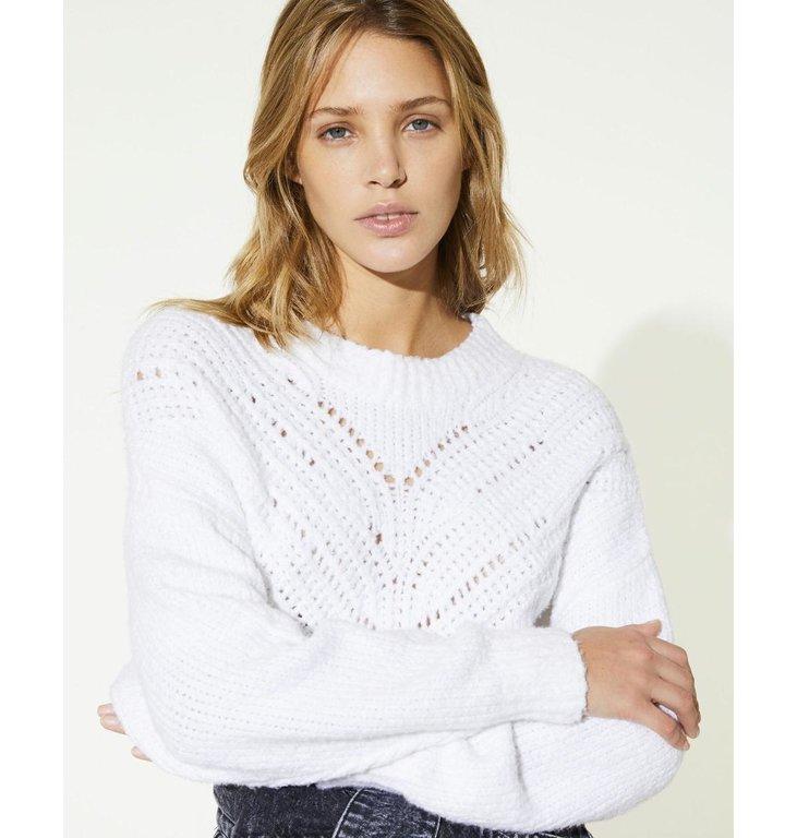 IRO IRO White Knit Arresi