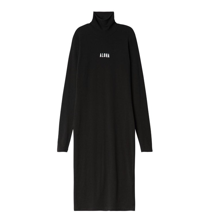 10Days 10Days Black High Neck Dress 20.332.0201
