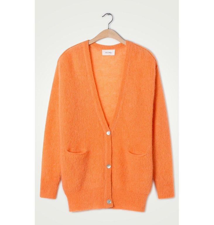 American Vintage American Vintage Orange Cardigan Zazo236