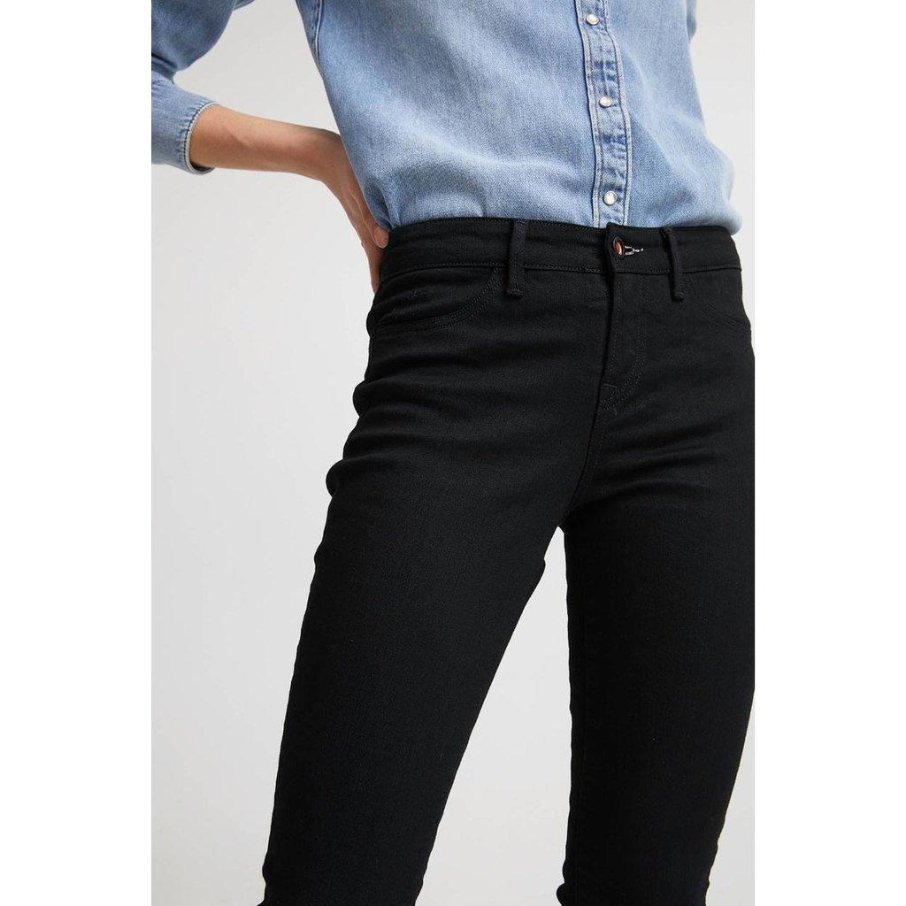Denham Black Skinny Fit Jeans Spray