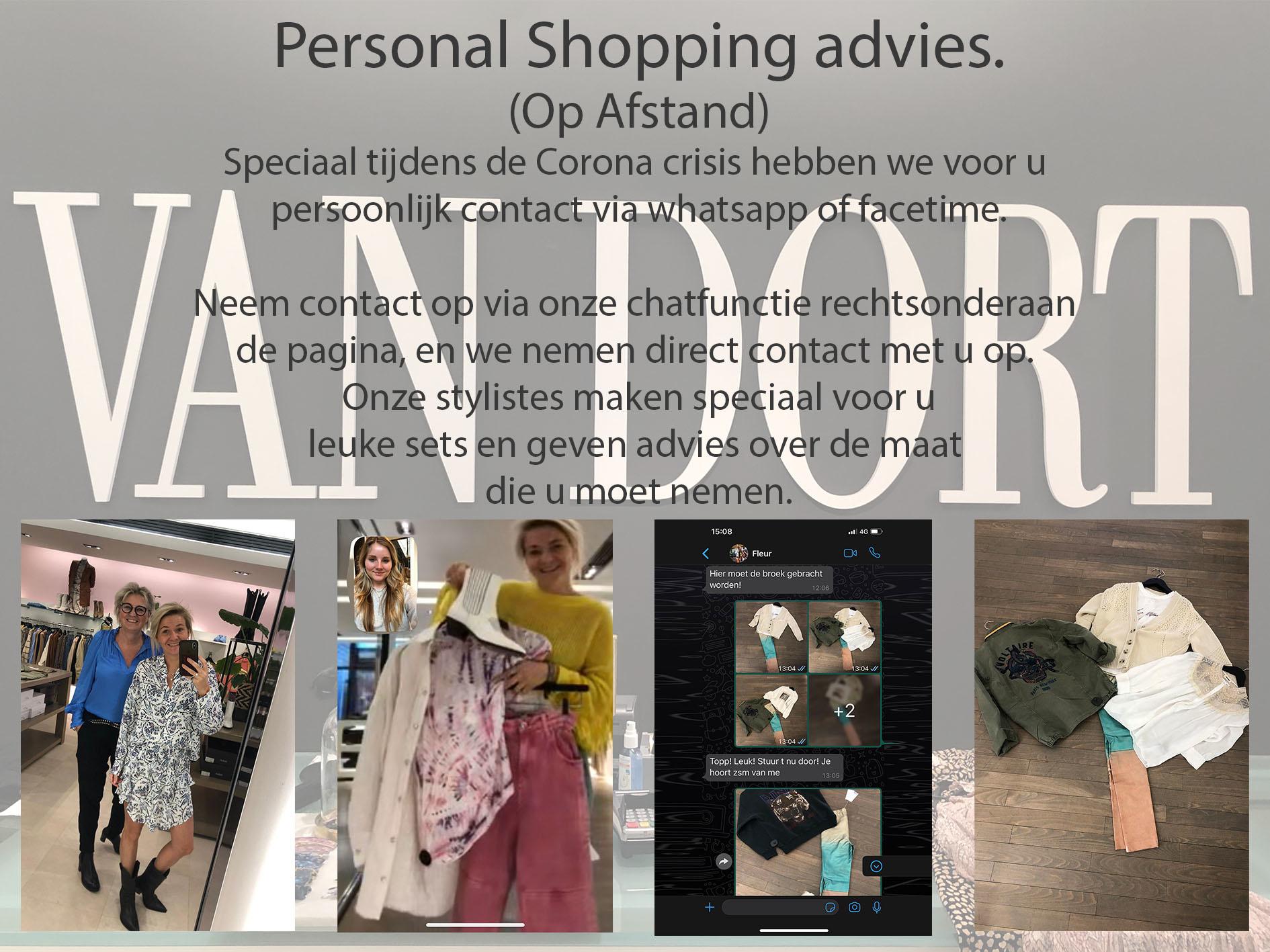 Personal shoppen bij Van Dort