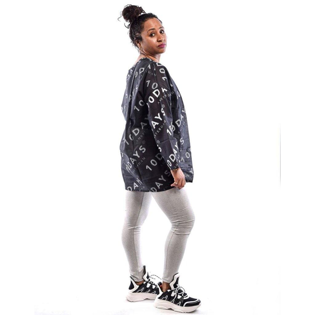 10Days Light Grey Melee Yoga Legging Long 21.026.9900