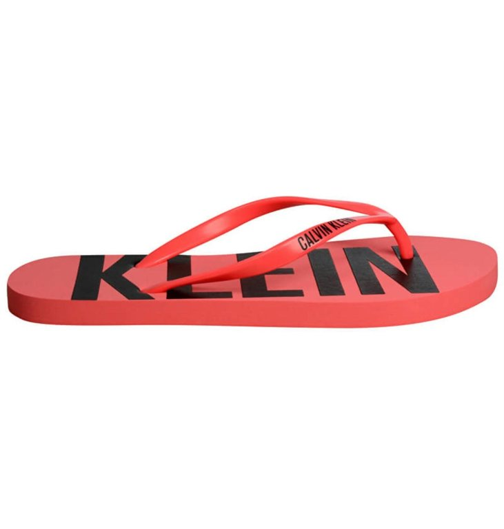 Calvin Klein Calvin Klein Pink Flip-Flop KWOKW00397