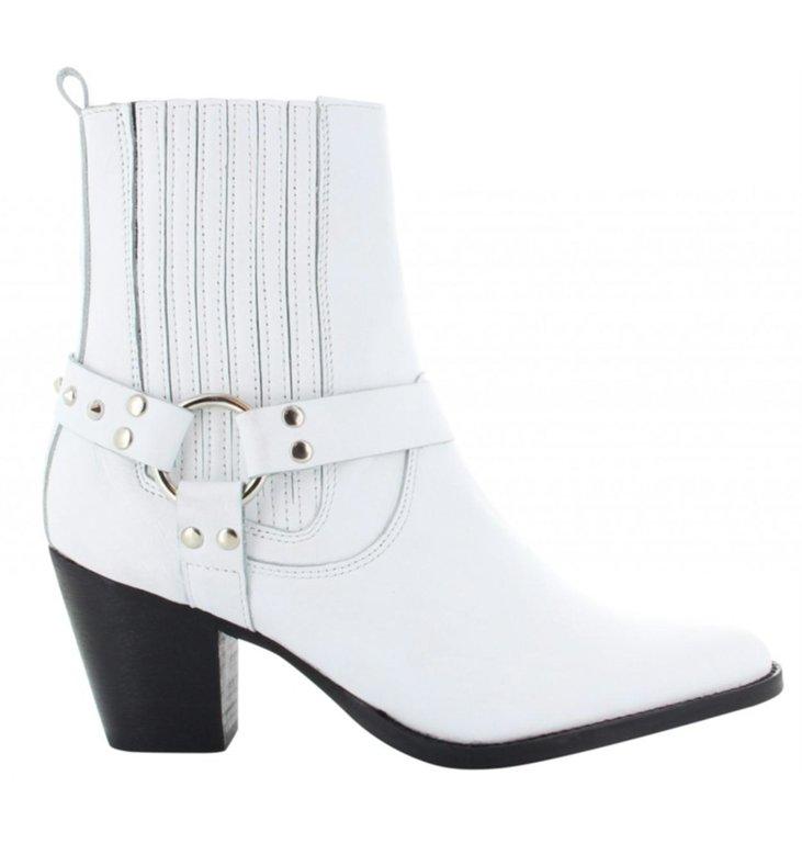 Tango Shoes Tango Shoes White Western Bootie Ella Western 8-B