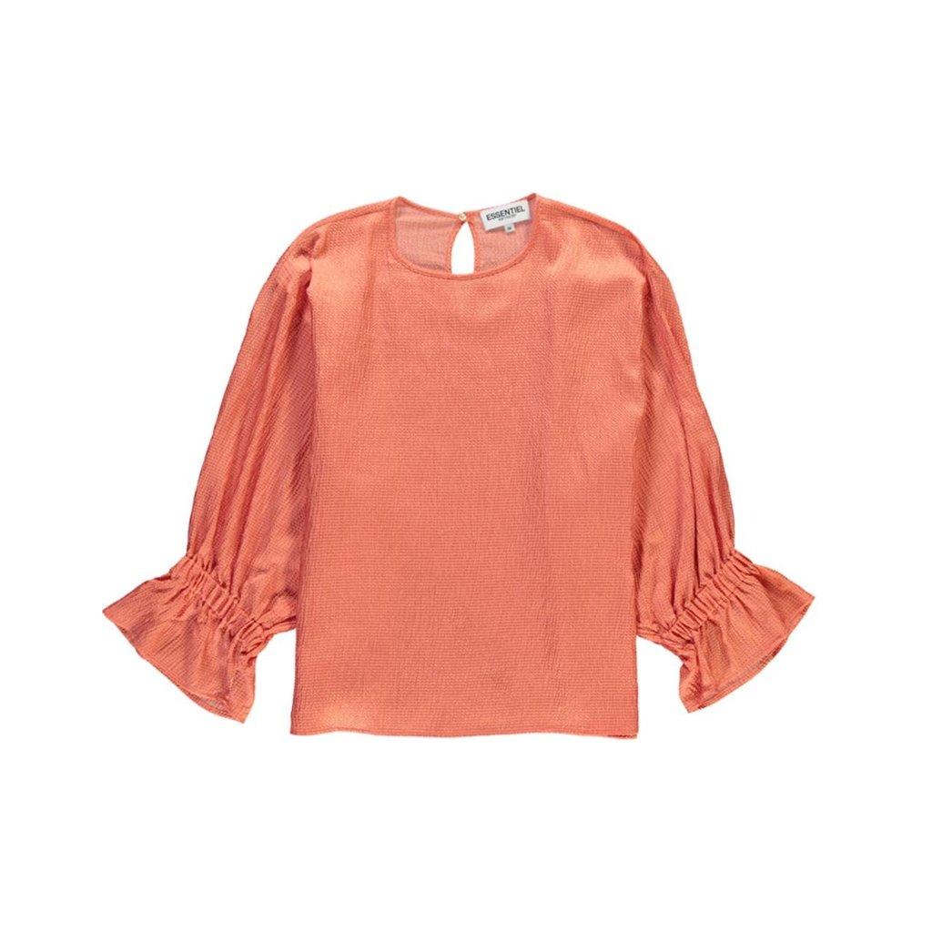 Essentiel Antwerp Orange Blouse Soul