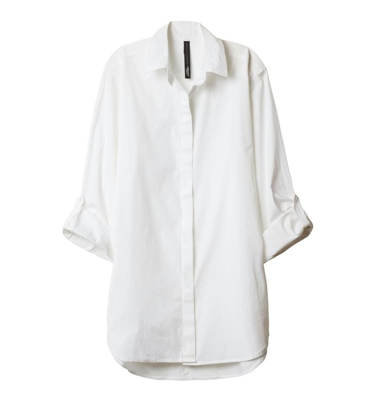 10Days 10Days White Essentials Men's Shirt 20.400.9900