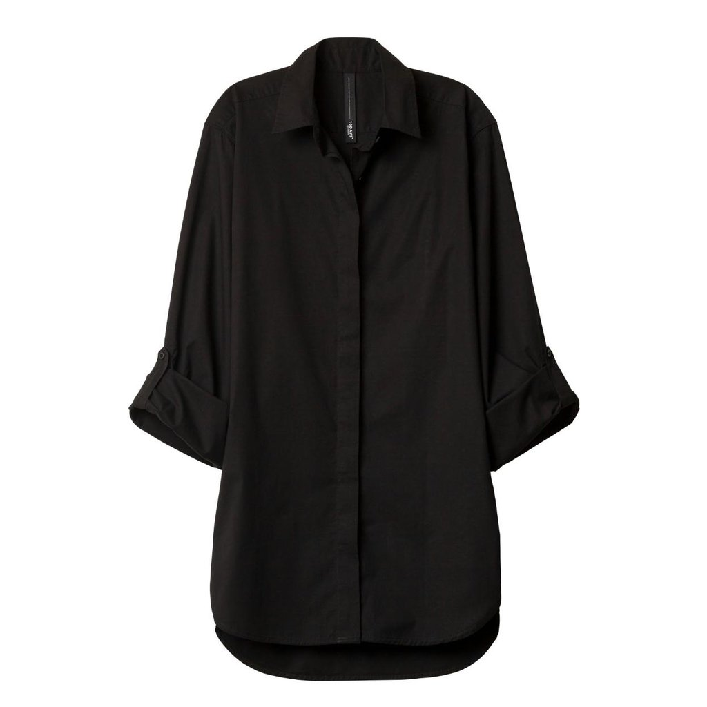 10Days Black Essentials Men's Shirt 20.400.9900