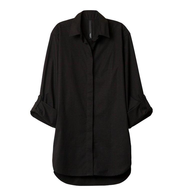 10Days 10Days Black Essentials Men's Shirt 20.400.9900