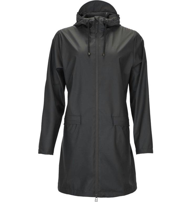 Rains Rains Black W Coat 1246