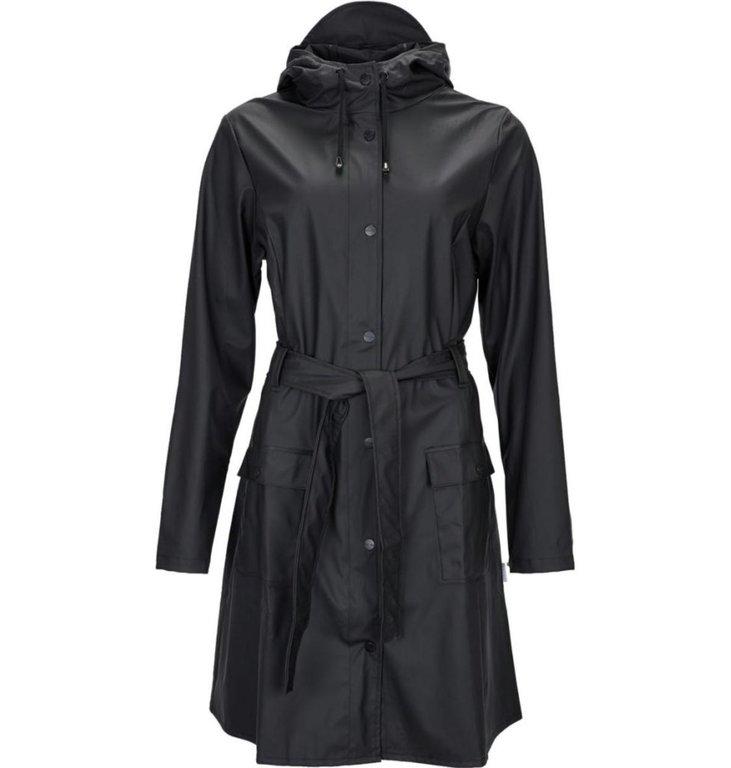 Rains Rains Black Curve Jacket 1206