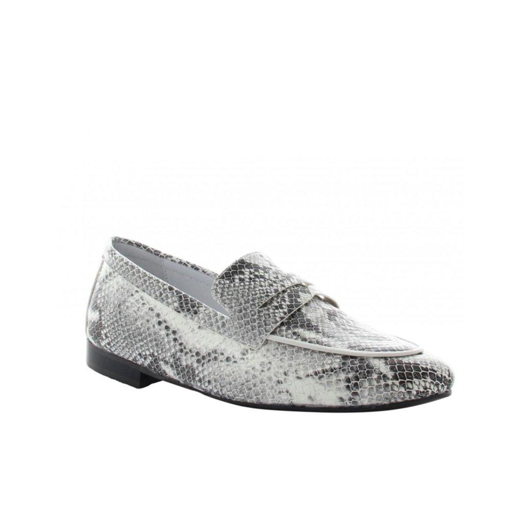 Tango Shoes Snake Print Loafer Pleun New 40-c