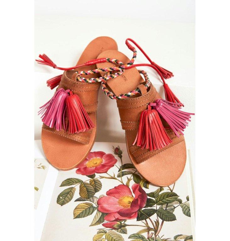 Antik Batik Antik Batik Camel Sandaal Youri