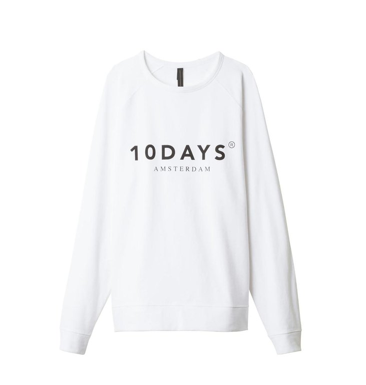 10Days 10Days White THE CREWNECK SWEATER 21.810.9900