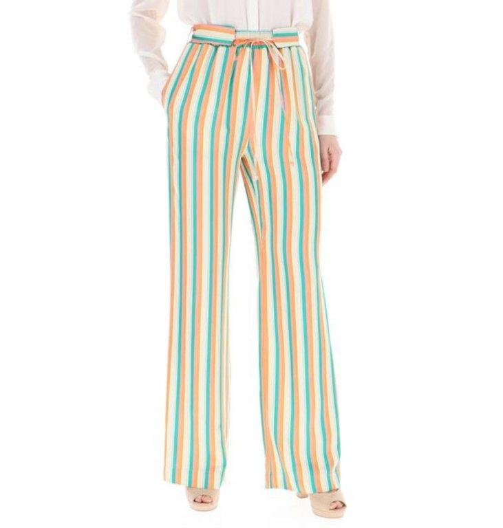Pinko Pinko Striped Pants Giorgia