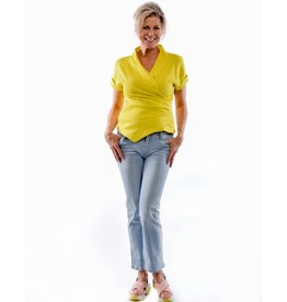 Yoga Jeans Yoga Jeans Blue Mid-rise Straight Chloe