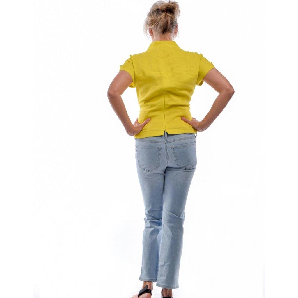 Yoga Jeans Blue Mid-rise Straight Chloe