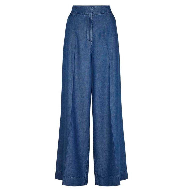 Second Female Second Female Denim Blue Pants Lyle