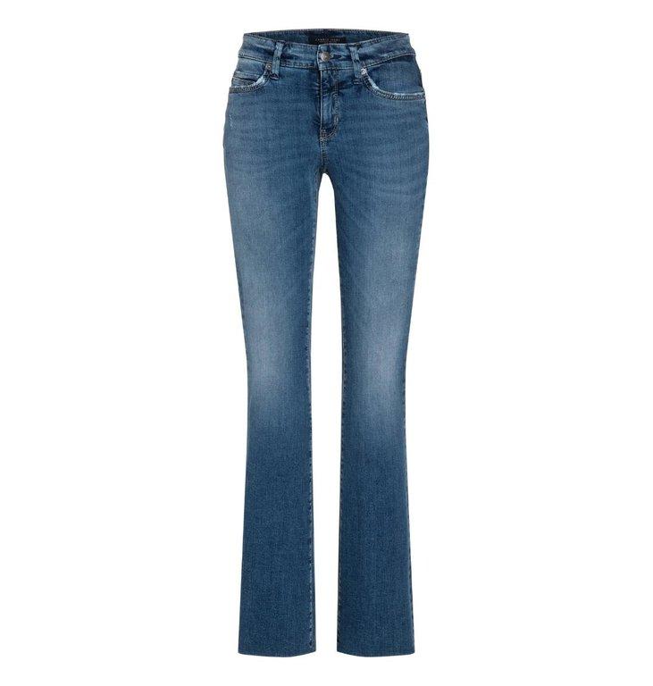 Cambio Cambio Denim Blue Parla Flared Jeans 9182-0047-02