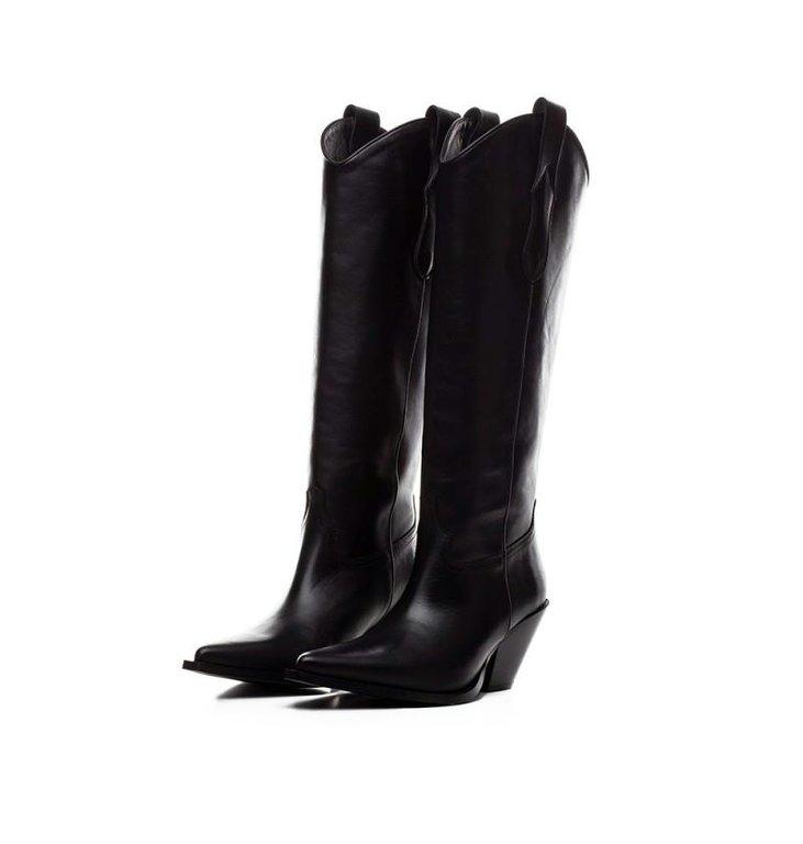 Toral Shoes Toral Shoes Black Hoge cowboy Boots TL-12028