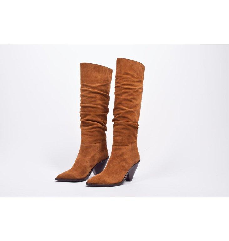 Toral Shoes Toral Shoes Cognac Hoge cowboy Boots TL-12033