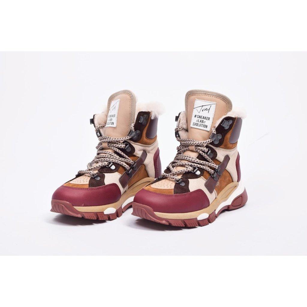 Toral Shoes Multicolour Tech Berg Sneakers TL-12197/B