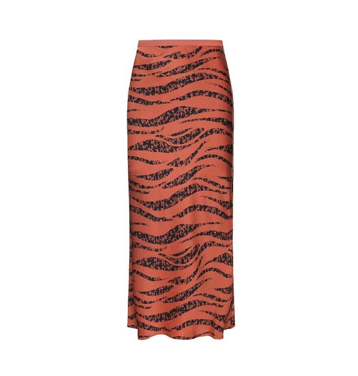 Anine Bing Anine Bing Roest Bar Silk Skirt AB34-036-34A