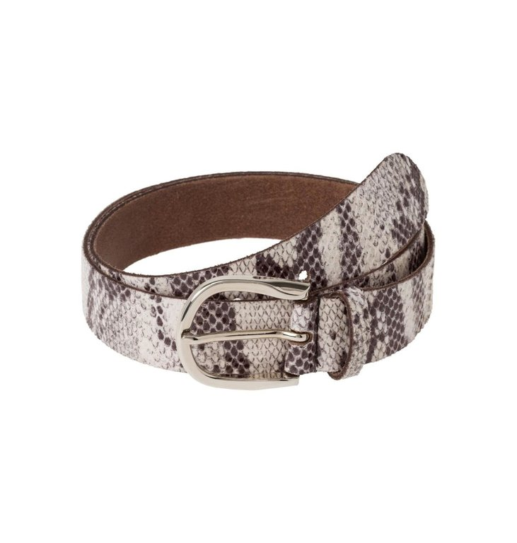 Marc Aurel Marc Aurel Snake Print Belt 9223-5000-61111