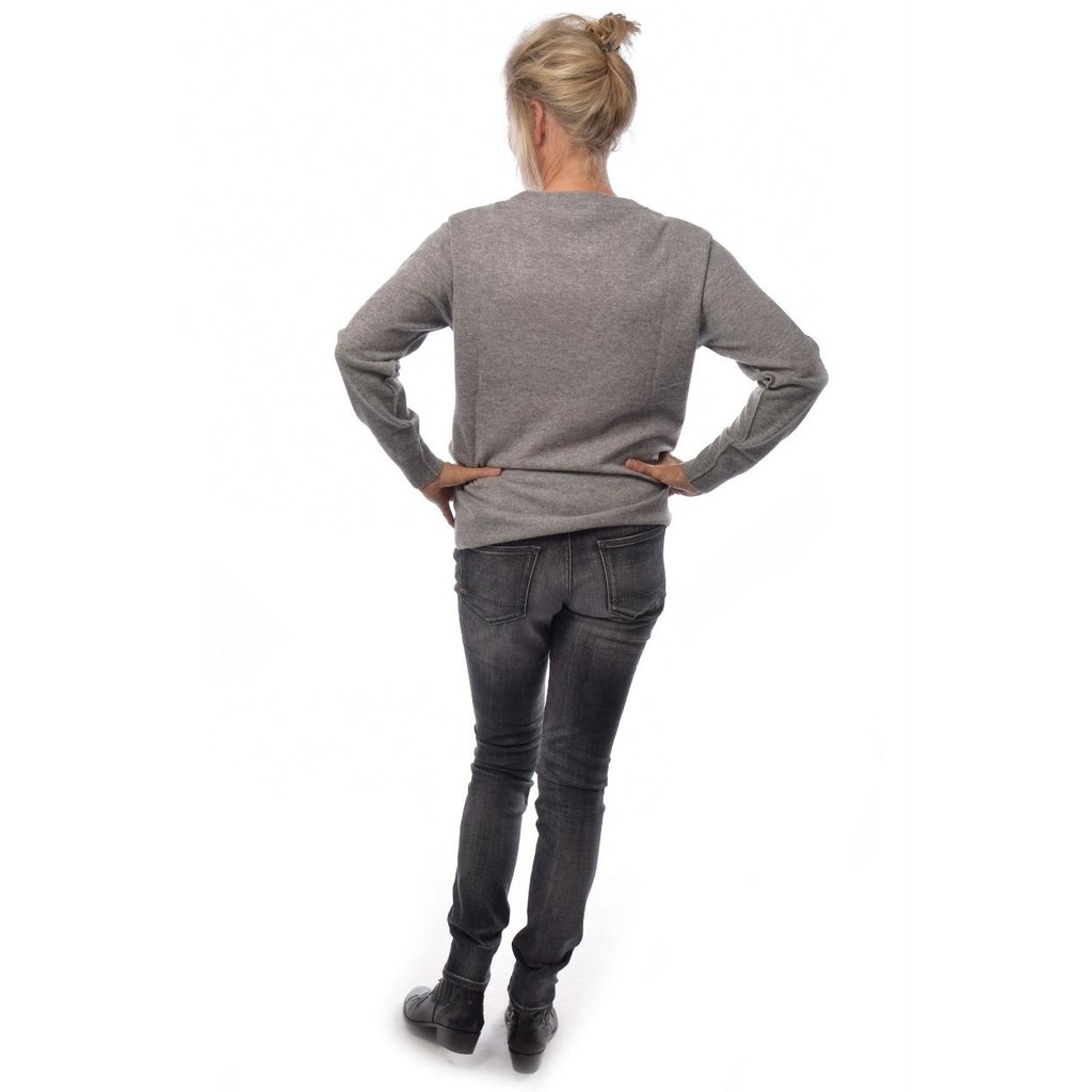 Denham Grey Slim-fit Jeans Sharp