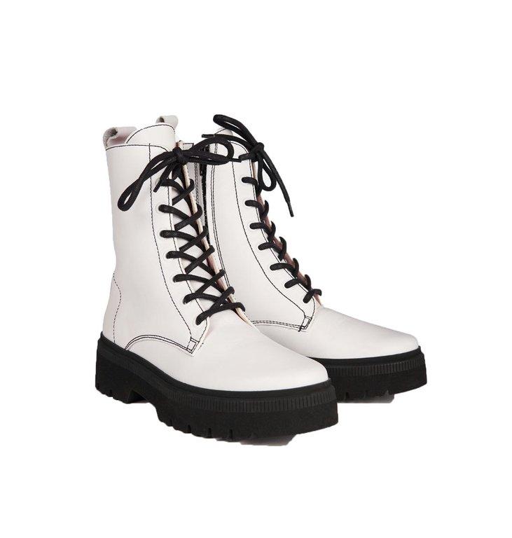 Essentiel Antwerp Essentiel Antwerp White Boots Teneral