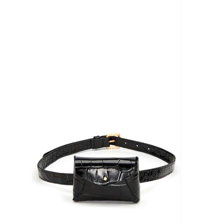 Fabienne Chapot Fabienne Chapot Black Mini Purse Belt Cindy