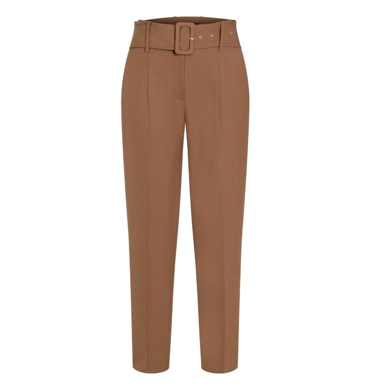 Cambio Cambio Camel Kate Belted Pants 6244-0289-00