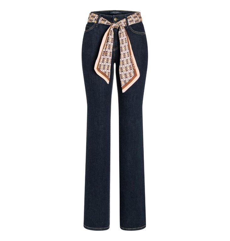 Cambio Cambio Denim Blue Parla Flaired Jeans 9157-0047-03