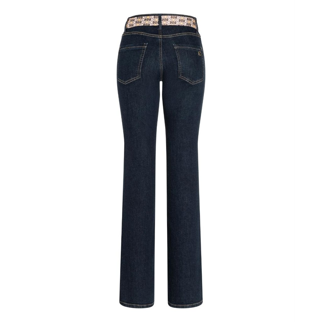 Cambio Denim Blue Parla Flaired Jeans 9157-0047-03