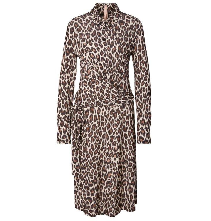 Marc Cain Marc Cain Leopard Dress MA2112-J29