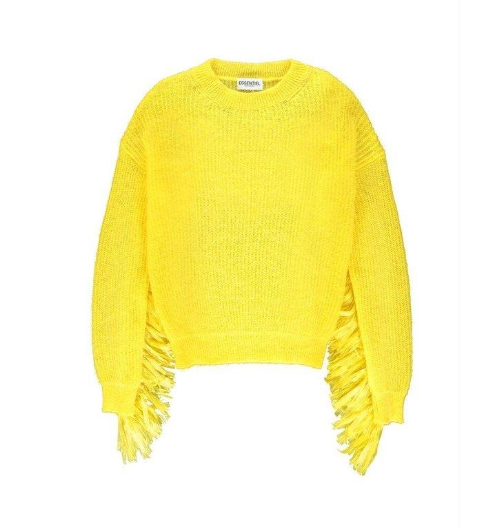 Essentiel Antwerp Essentiel Antwerp Yellow Knit Vogua