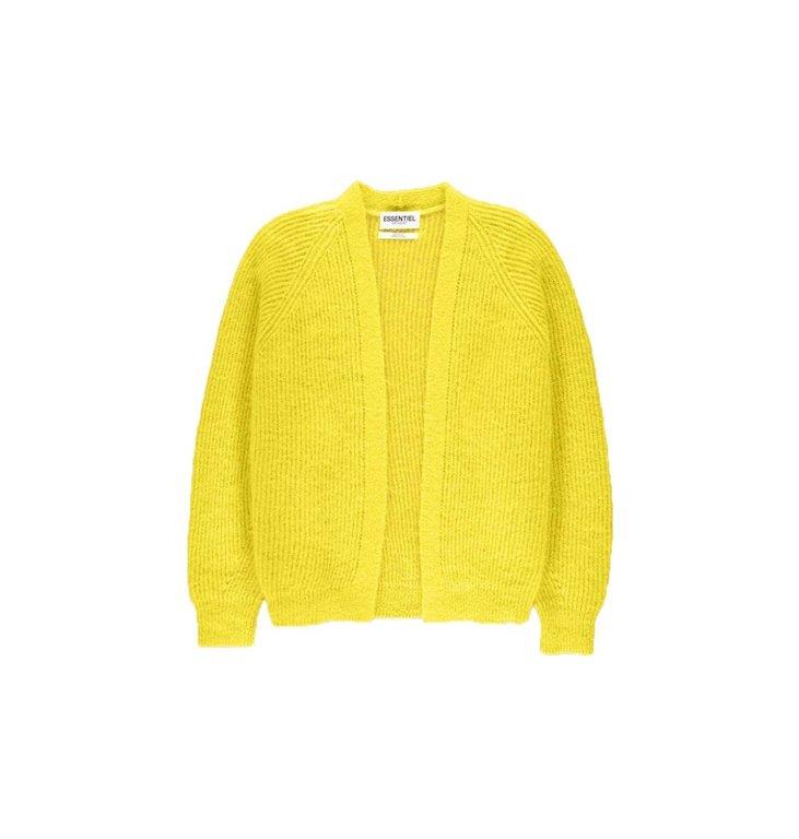 Essentiel Antwerp Essentiel Antwerp Yellow Cardigan Visno