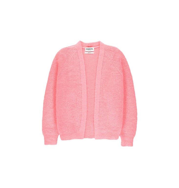 Essentiel Antwerp Essentiel Antwerp Pink Cardigan Visno