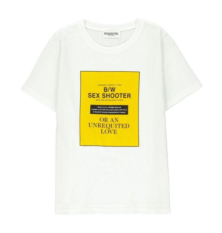 Essentiel Antwerp Essentiel Antwerp Off White T-shirt Vite