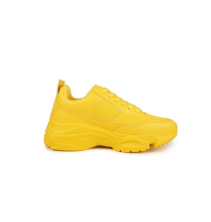 Essentiel Antwerp Essentiel Antwerp Yellow Sneaker Vultra