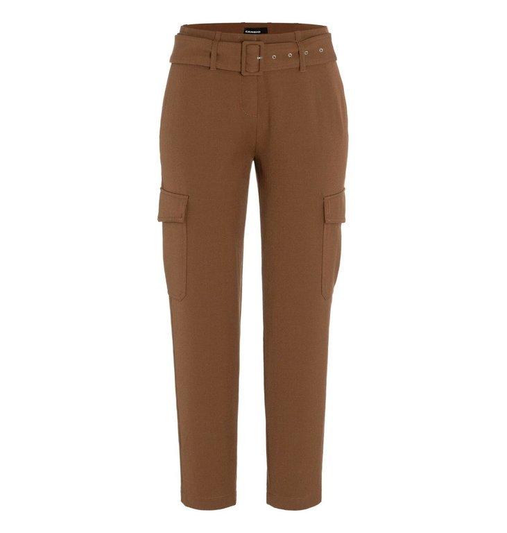 Cambio Cambio Brown Kaia Cargo Trousers 6047-0315-01