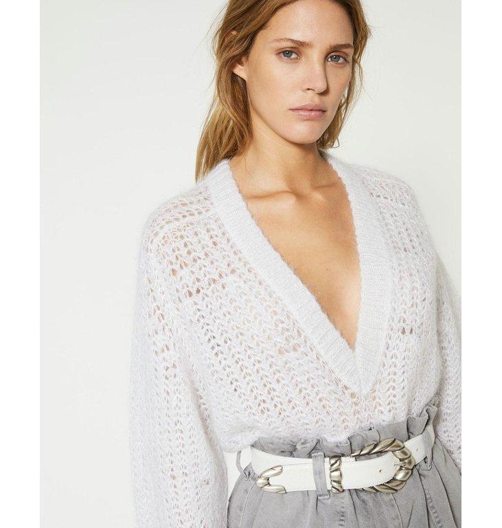 IRO IRO White Knit Marltox