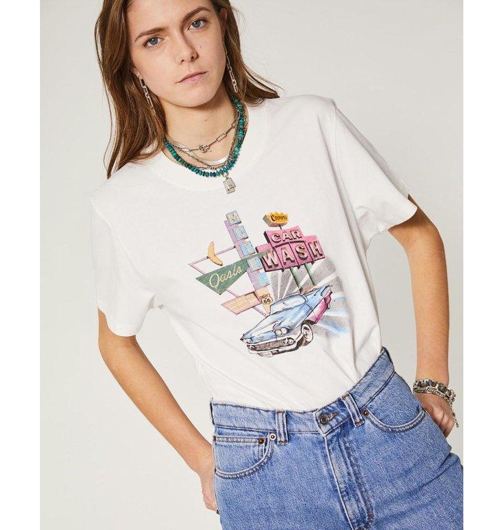 IRO IRO White T-Shirt Caylar