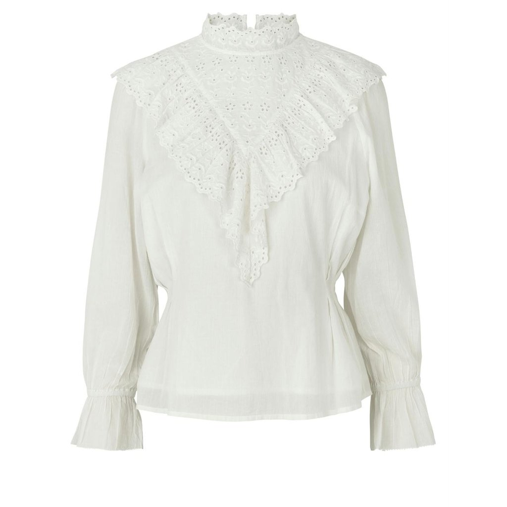 Notes du Nord Off White Blouse Nima
