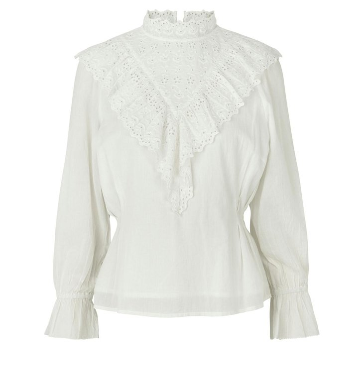 Notes du Nord Notes du Nord Off White Blouse Nima