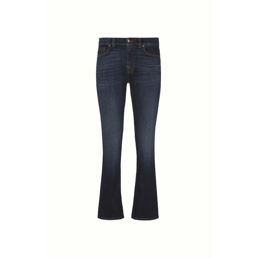 7 For All Mankind Denim Dark Blue Bootcut Jeans JSWB44A0DN