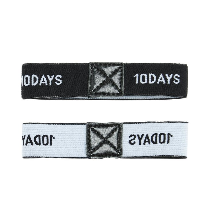 10Days 10Days Black Elastic Arm Suspender 20.941.0201